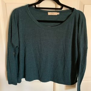 green crop with back cut out